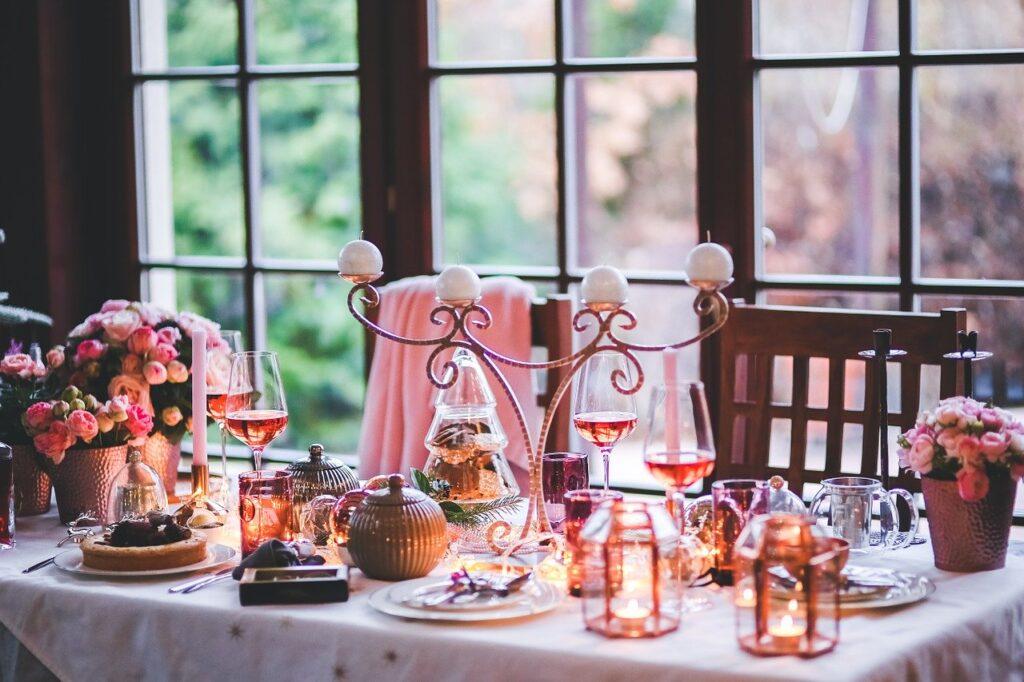 christmas, xmas, table